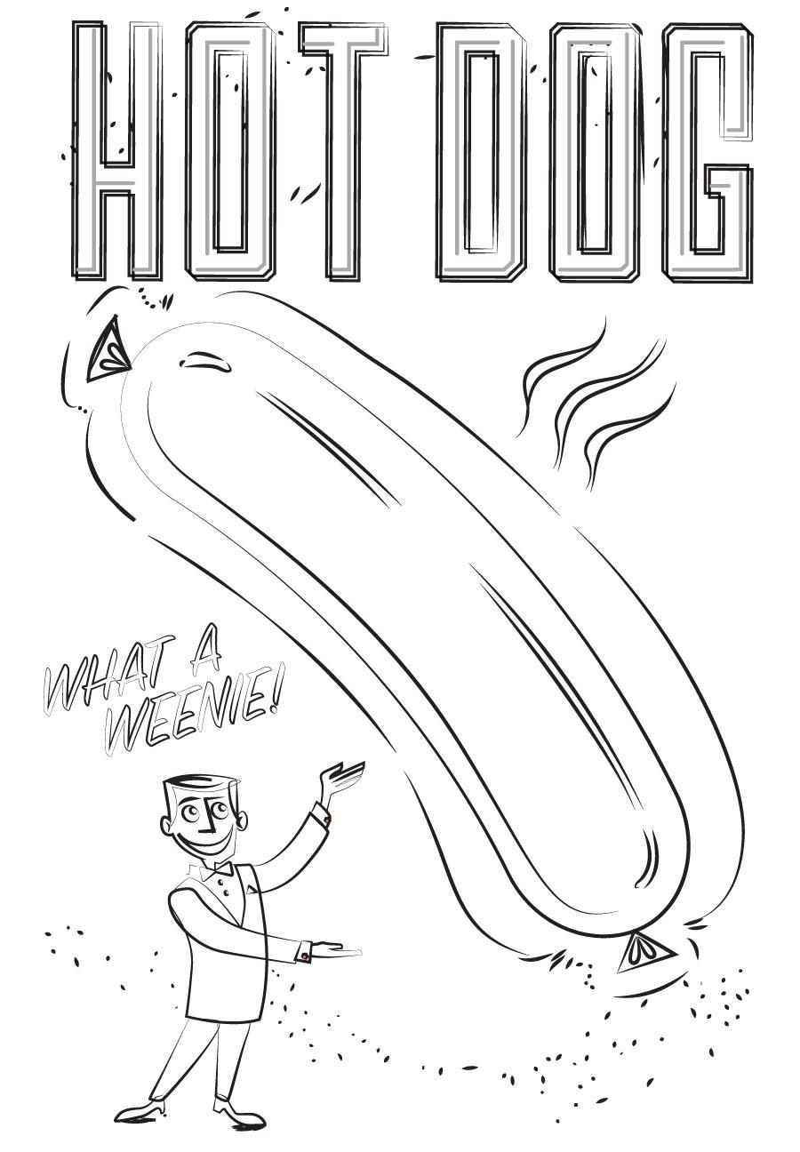 hotdog-poster-sketch-arvizu