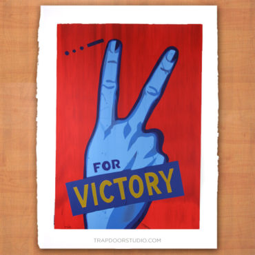 V-for-victory-monoscreen-art-arvizu