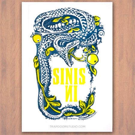 snake-apple-garden-of-eden-letterpress