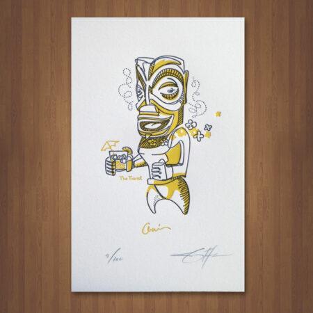 tourist-tiki-letterpress-print