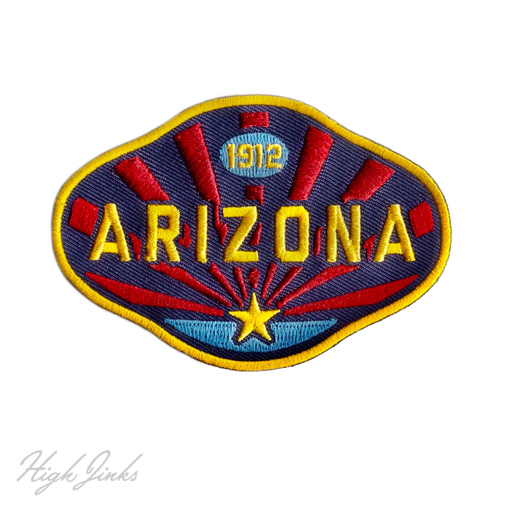 High-Jinks-Apparel-Arizona-1912-Embroidered-Patch