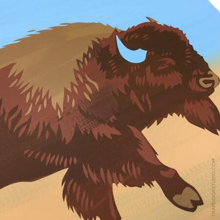 Bison-detail-1