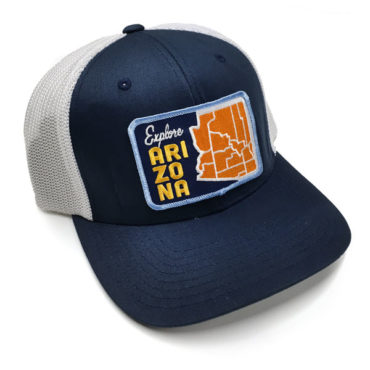 Explore-Arizona-blue-Cap