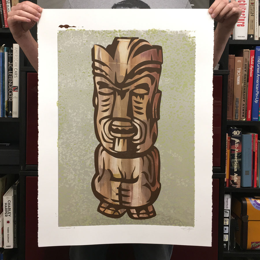 driftwood-tiki-serigraph