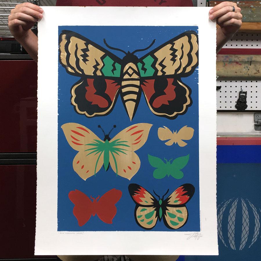 colorful-moths-print