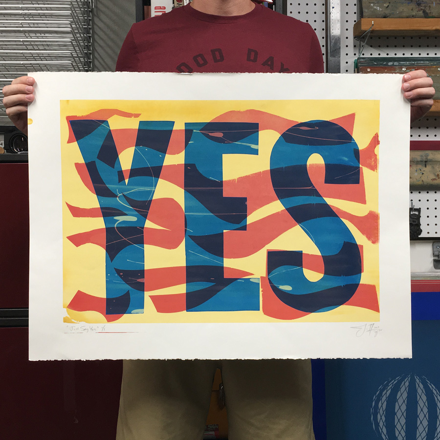 just-say-yes-print