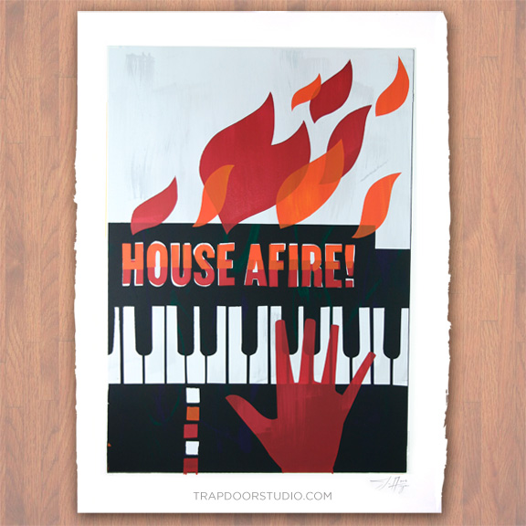 house-afire-monoscreen-jazz-art-arvizu